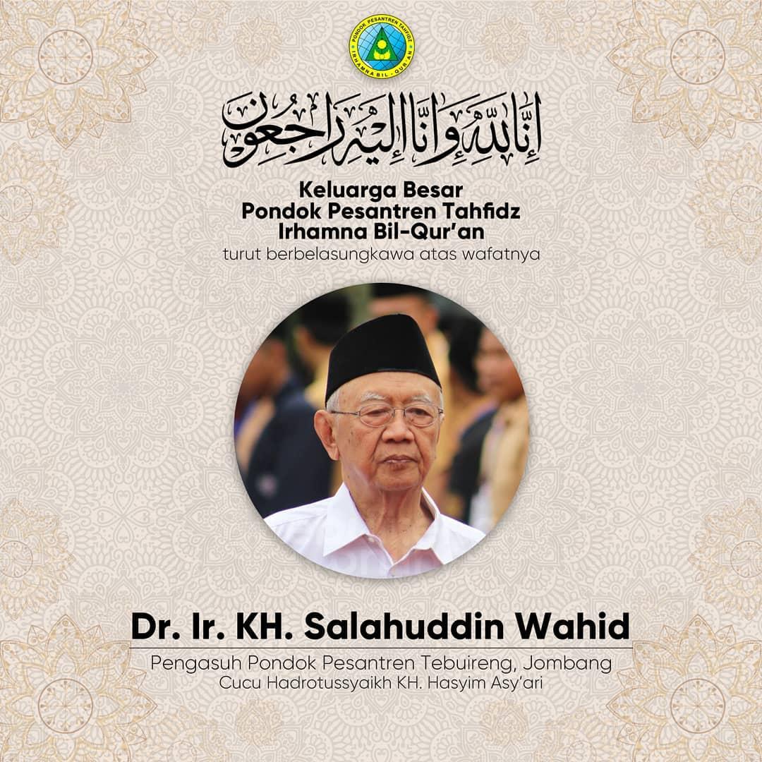 pesantren program Telah meninggal dunia Pengasuh Pondok Pesantren Tebuireng, Jombang KH. Sholahuddin Wahid (Cucu Hadro