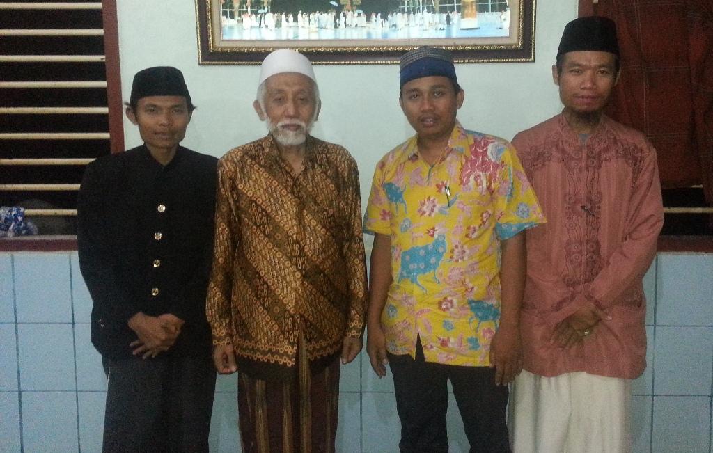 pimpinan pesantren tahfidz irhamna bil-qur'an bersama para Tokoh